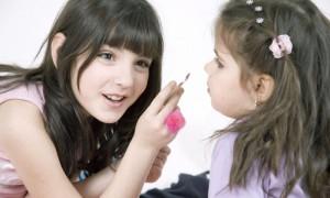 Первый макияж