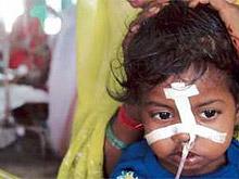 Жители Дели пострадали от смертельного японского энцефалита