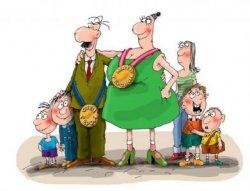 Многодетные семьи — щит для здоровья матери