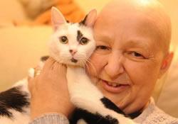Кот выступил в роли «маммографа» – и спас хозяйке жизнь
