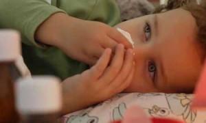 Заболеваемость детей гриппом перешагнула эпидпорог