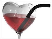 Алкоголь может спровоцировать приступ аритмии