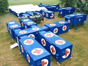 Минобороны купит четыре мобильных госпиталя к 2015 году