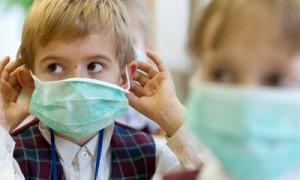 В облцентре началась эпидемия гриппа среди детей