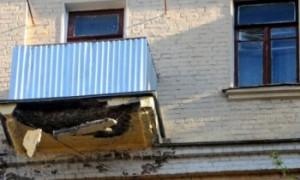 В подмосковной больнице обрушились балконы