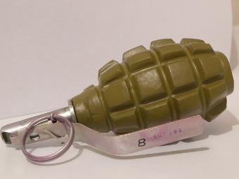 В читинской поликлинике обнаружена боевая граната