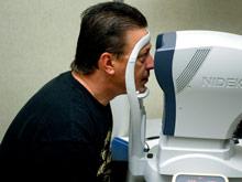 Посмотрев в глаза человеку, возможно оценить течение заболевания
