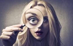 Моргание, как способ переключить центр внимания