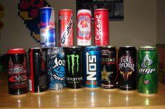 В чем опасность энергетических напитков