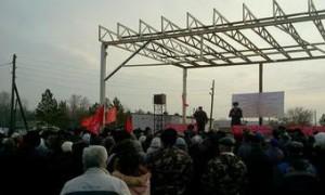 Триста оренбуржцев вышли на митинг в защиту здравоохранения