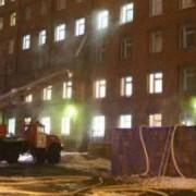 Пожар в Покровской больнице произошел из-за непотушенной сигареты