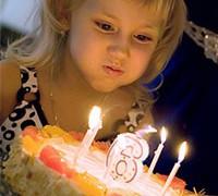 В Австралии детям запрещено задувать праздничные свечи