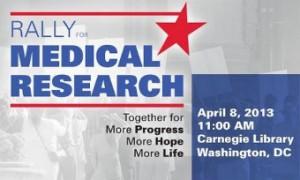 В Вашингтоне прошел многотысячный митинг против сокращения бюджета NIH