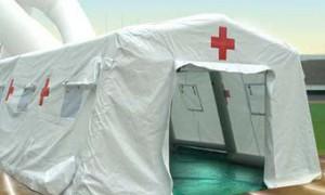 Десантникам выдали «летающие» медицинские палатки