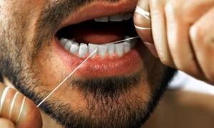 Эффективность зубной нити с фтором
