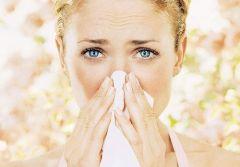 Иглоукалывание спасает при аллергии