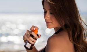 Солнцезащитный крем может загореться вблизи открытого огня