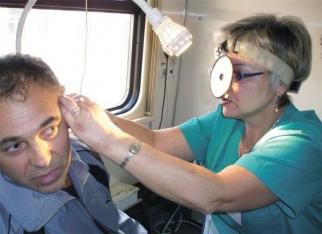 На Смоленщине работают передвижные диагностические станции