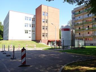 Сгорела реанимация крупнейшей больницы Риги