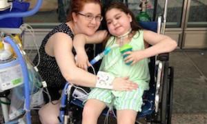 Девочка с пересаженными легкими вернулась домой