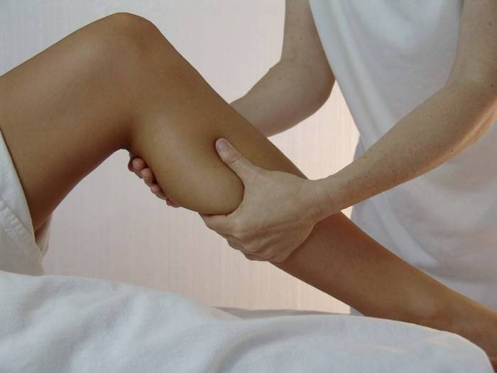 Как правильно делать массаж ног