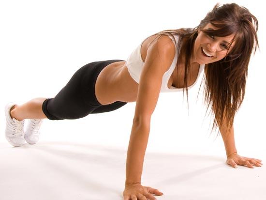 Фитнес в горизонтальном положении