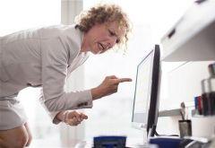 Среднестатистический работник «бесится» дважды в день
