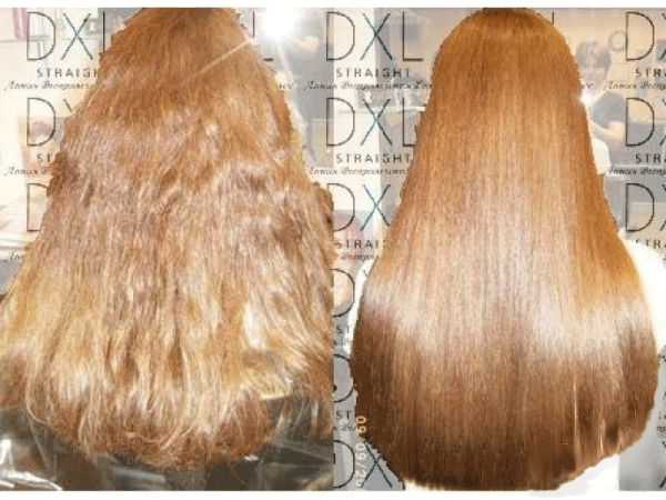 Последовательность процедуры ламинирования волос