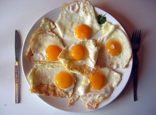 Яичница – самый полезный завтрак