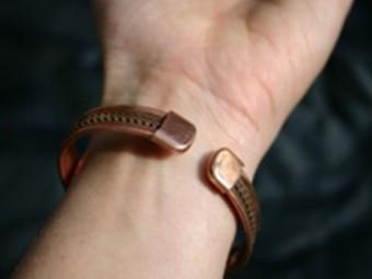 Медные браслеты оказались бесполезными при артрите