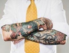 Татуировки мешают найти работу