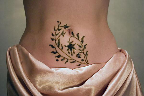 Татуировка хной: женские секреты красоты