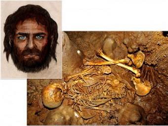 Генетики обнаружили у древних европейцев темную кожу и голубые глаза