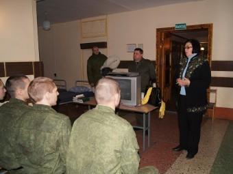 Омбудсмен проверила условия жизни в остогожской «учебке»