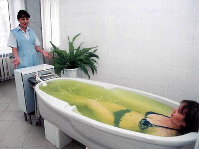 Ванны при пневмонии