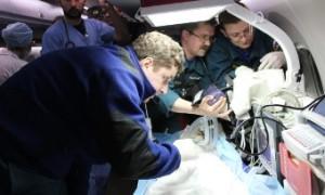 Самолет МЧС доставил в Нижний Новгород ребенка с тяжелыми ожогами