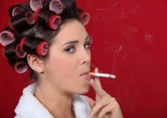 Курение приблизит морщинистую старость