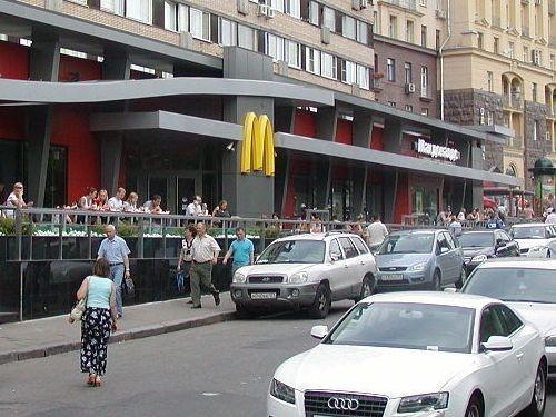 Первый российский McDonald`s закрыт за нарушение санитарных норм