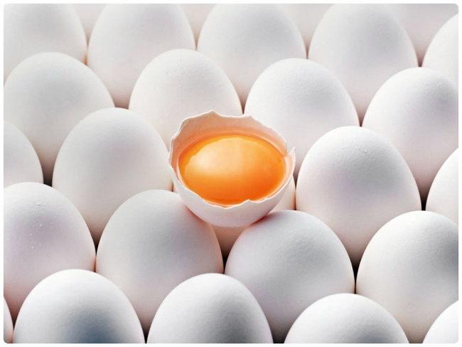 Куриные яйца помогают бороться с лишним весом