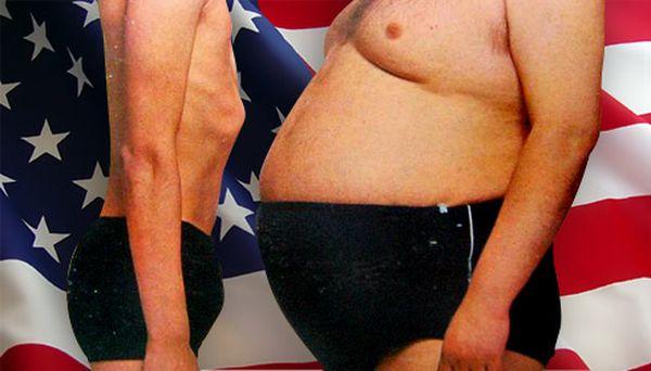 За десять лет американцы прибавили 3 см в талии