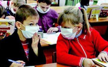 Эпидемия гриппа распространилась на школьников