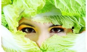 Маски для кожи лица из капусты