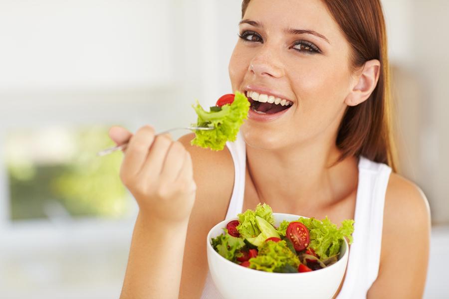Твёрдая еда укрепляет зубы