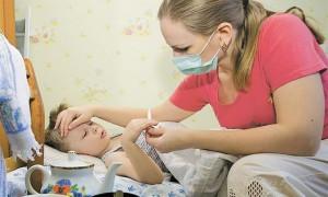 В Смоленской области дети стали чаще болеть гриппом и ОРВИ