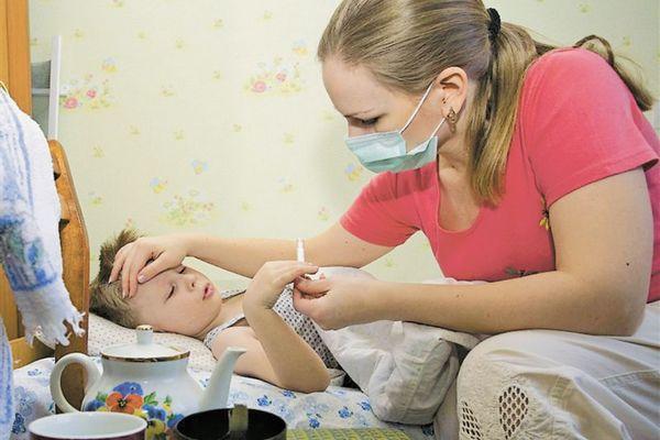 В Смоленске растет число детей, заболевших гриппом