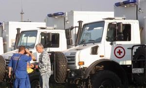 В Крым прибыл мобильный госпиталь ФМБА