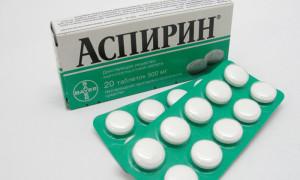 Регулярное употребление аспирина может привести к слепоте