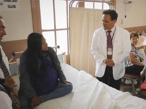 Перуанские медики удалили опухоль яичника весом в 16 кг