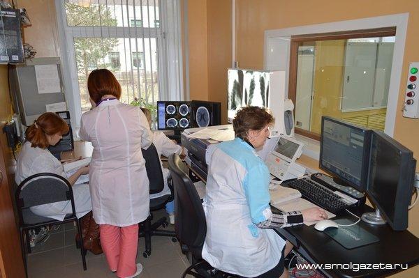 В руднянскую больницу Смоленской области закупили оборудование для реабилитации больных с инсультом