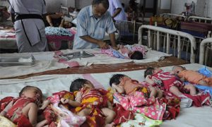 В индийской больнице торговали детьми